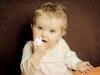 Babyfotos mit Schnulli